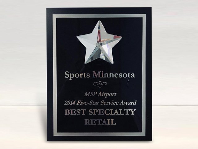 MSP Airports 2014 5 Star Customer Service Award – Sports MN