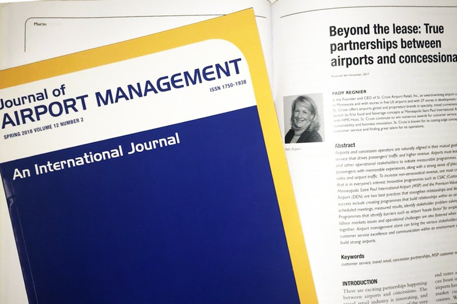 Beyond The Lease True Partnerships Between Airports And Concessionaires