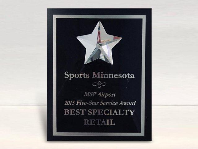 MSP Airports 2015 5 Star Customer Service Award – Sports MN