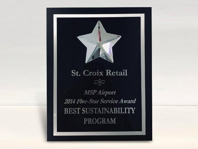 MSP Airports 2014 Best Sustainability Program – St. Croix Airport Retail